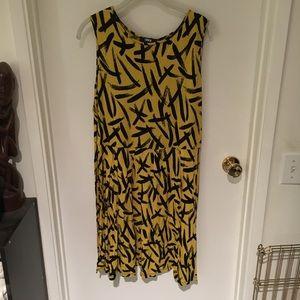 ASOS patterned mini dress